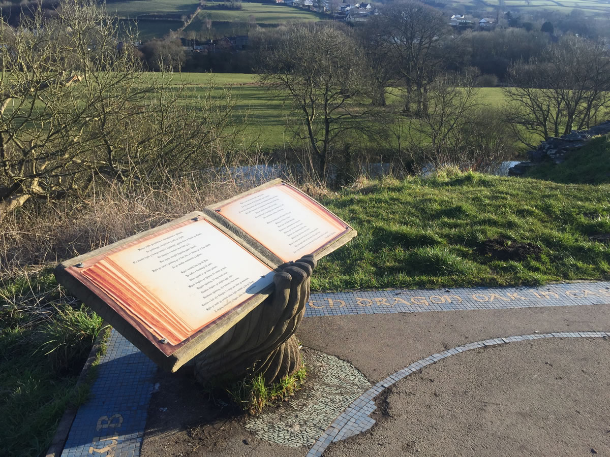 The Dragon Story at Newcastle Emlyn